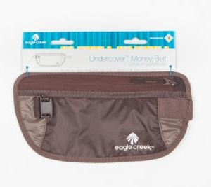 Undercover Money Belt - Brun